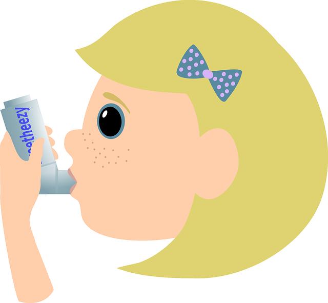 子供の喘息ってどんな病気?発作が出た時の対処法と毎日の心がけ!