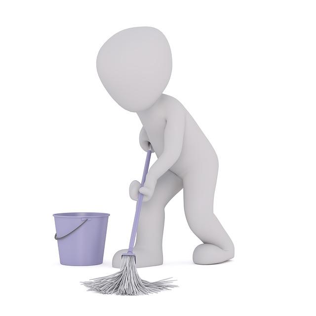 掃除の時間割を作って楽しちゃおう♪忙しい人必見!