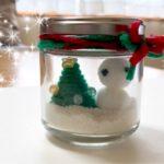 砂の小瓶をハンドメイド♪~クリスマスバージョン~