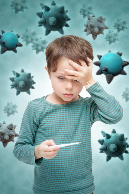 子供の発熱の原因は?その他の症状から考えられる病気って何??